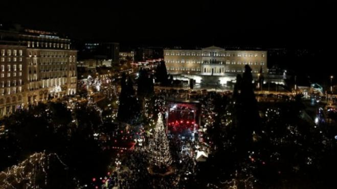 Spectacular New Year party to usher in 2020 in Athens