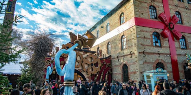 A million visitors for this year's Mill of the Elves, at Trikala