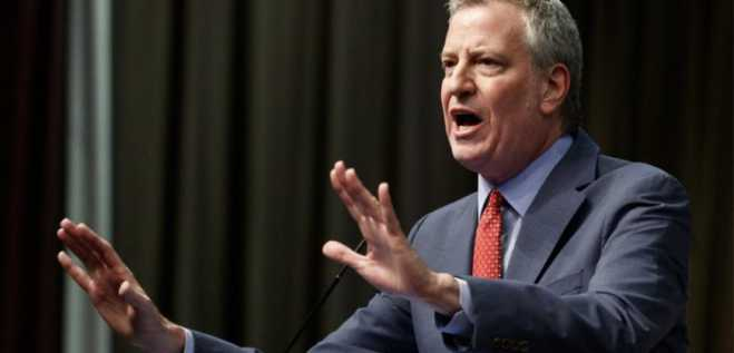 New York Mayor Bill de Blasio enters US Presidential race