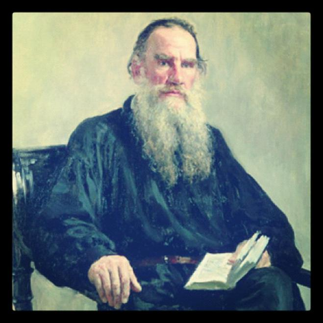 A glimpse of Tolstoy and the Greek classics
