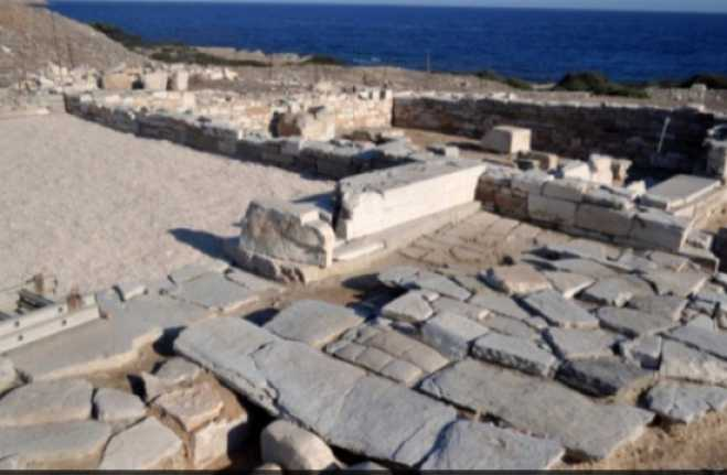 6th century BC new finds unveiled on Despotiko island
