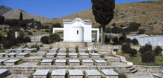 Bones of 20 fallen Greek soldiers at WW2 Albanian front laid to rest