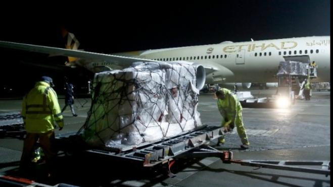 UAE sends 11 tons of medical supplies and equipment to Greece