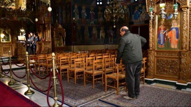 Church of Greece announces Easter services behind closed doors