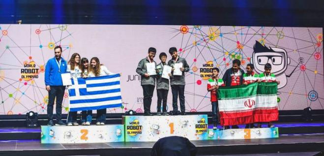 Greek school wins 2nd spot in the 2019 World Robot Olympiad (photos)