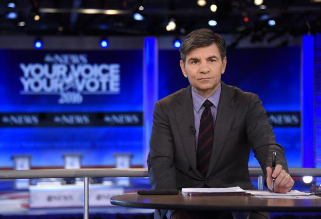 Greek American ABC anchor George Stephanopoulos has COVID-19