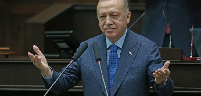 Shocking statement by Erdogan: Compares Greeks with the Nazis!