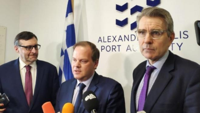 Karamanlis: US officials' visit to the conference proves their interest in the Alexandroupolis port