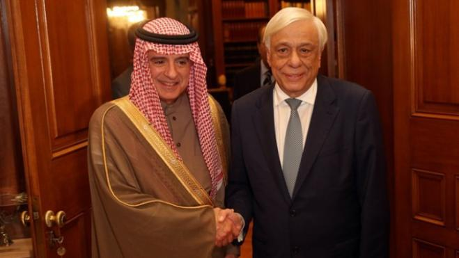 President Pavlopoulos: Saudi Arabia a vital bridge between Greece and the Arab world