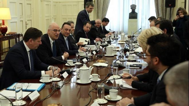 Foreign Minister Dendias: Parties express consensus on national issues at Council of Foreign Policy