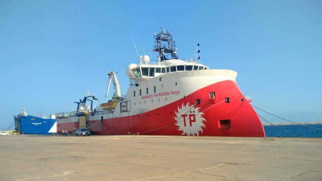 Turkish research vessel in Cyprus EEZ