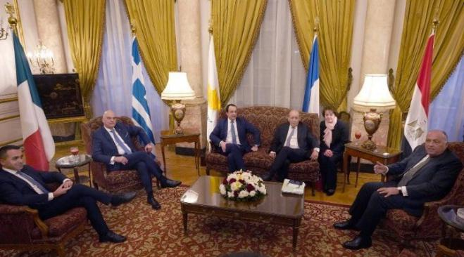 Meeting of the Foreign Ministers of Egypt, France, Cyprus and Greece – Final Communiqué (Cairo, 8 January 2020)