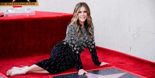 Rita Wilson gets her own Hollywood Walk of Fame star