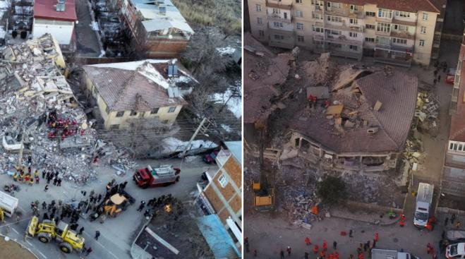 Death toll from Turkish quakes at over thirty