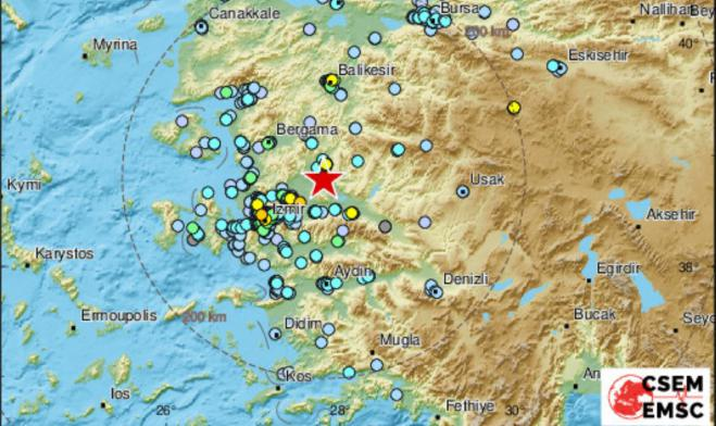 Strong quake in Turkey rocks eastern Greek islands