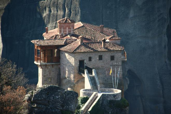 National Geographic praises Roussanou Monastery at Meteora