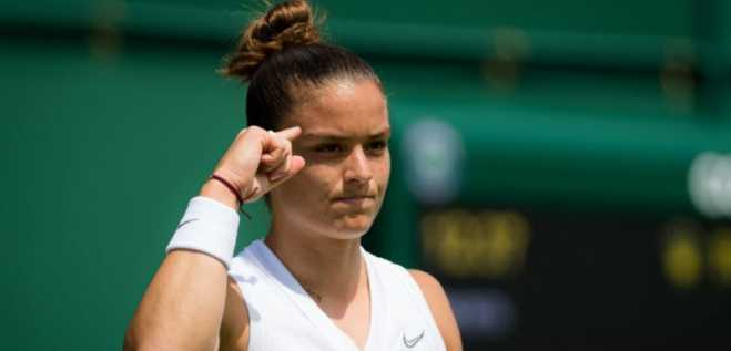 Maria Sakkari advances to 3rd round of Wimbledon