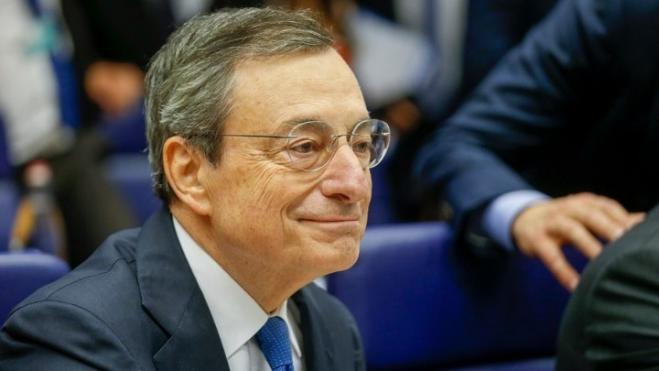 ECB President Mario Draghi says 'Greece is clearly a success story'