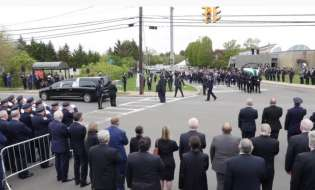 New York: Mourning for the tragic death of Greek-American police officer - The Message of the Archbishop